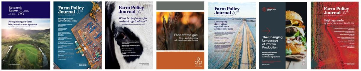 Publications covers